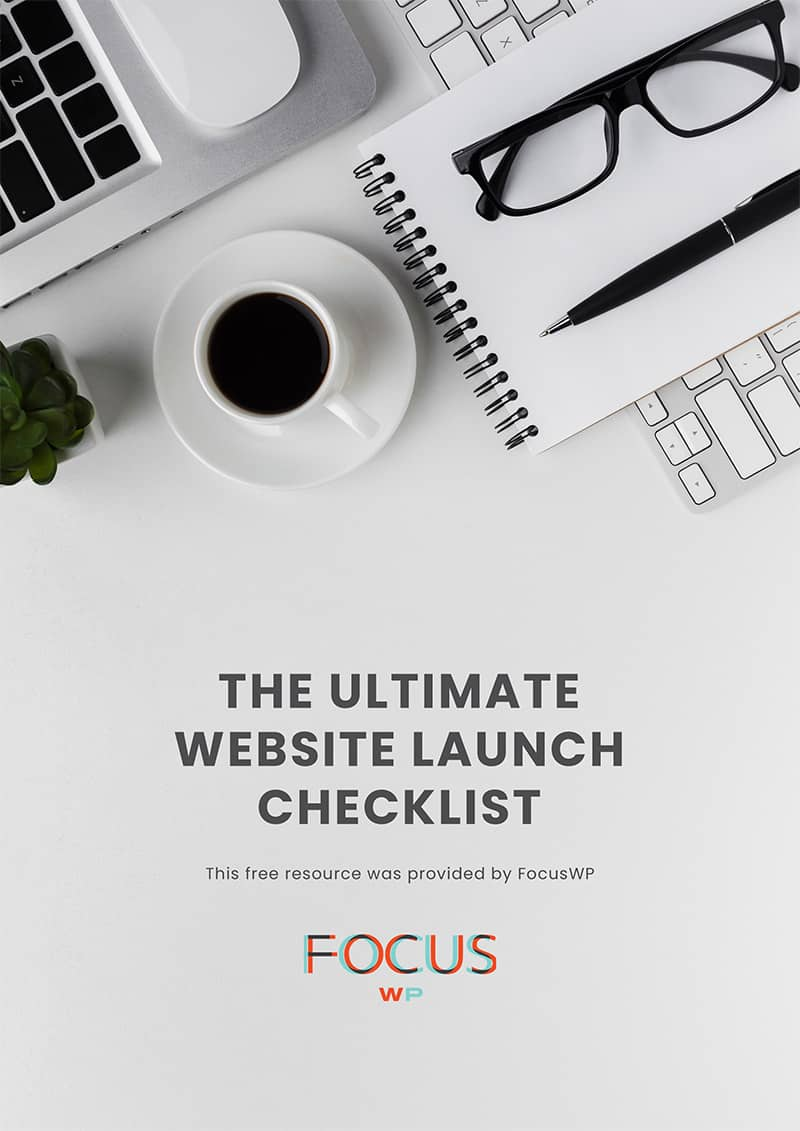 The Ultimate Website Launch Checklist