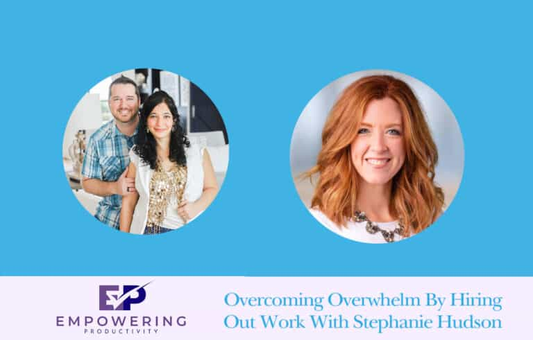 Empowering Productivity podcast cover art